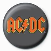 AC/DC - AC/DC Button Badge Pin 25 mm (Logo)