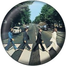 The beatles - The Beatles Badge Pack Pin 25 mm (Abbey Road)