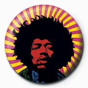 Jimi Hendrix - Jimi Hendrix Badge Pack Pin 25 mm (Psychedelic)