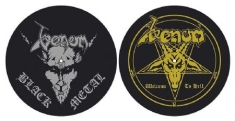 Venom - Black Metall / Welcome to hell SLIPMATS