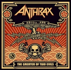 Anthrax - The Greater Of Two Evils ( 2 Lp Bla