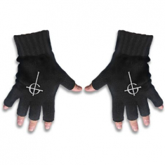 Ghost - Ghost Fingerless Gloves