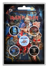 Iron Maiden - Button Badge Pack: Later Albums