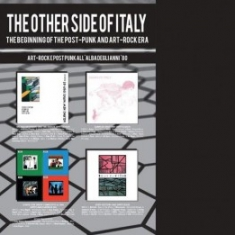 Other Side Of Italy Postpunk And Artrock Era (+Bok - Various
