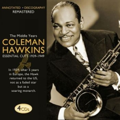 Hawkins Coleman - Middle Years (4Cd-Box)