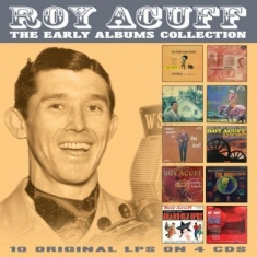 Acuff Roy - Early Albums Collection The (4 Cd)
