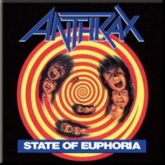 Anthrax - ANTHRAX FRIDGE MAGNET: STATE OF EUPHORIA