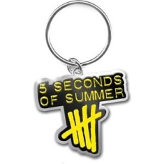 FIVE SECONDS OF SUMMER - STANDARD KEYCHAIN: DERPING STAMP LOGO