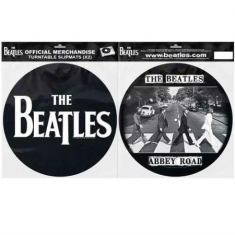 Beatles - Slipmat - Beatles Abbey Road Silhouette