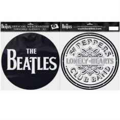 Beatles - Slipmat - Beatles Sgt. Pepper Drum