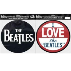 Beatles - Slipmat - Beatles I Love the Beatles