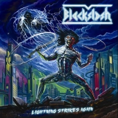 Blacklash - Lightning Strikes Again (Black Viny