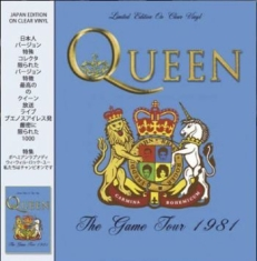 Queen - The Game Tour 1981 (Clear Vinyl)