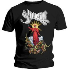 Ghost - GHOST MEN'S TEE: PLAGUE BRINGER Size L.