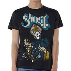 Ghost - GHOST MEN'S TEE: PAPA OF THE WORLD Size L