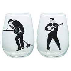 Elvis Presley - Elvis Presley 2 Pc. 18 Oz. Glass Tumbler Set