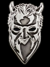 Ghost - Ghost Nameless Ghoul Antique Nickel Enamel Pin