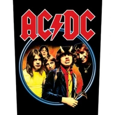 AC/DC - Highway to Hell - Back Patch