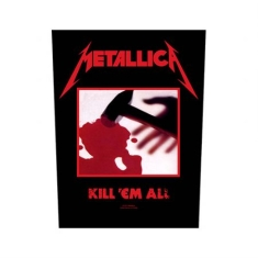 Metallica - Kill 'em all - Back Patch
