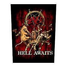 Slayer - Hell Awaits - Back patch