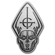 Ghost - Pin Badge: Papa Head (Retail Pack)