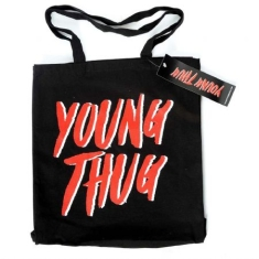 Young Thug - Young Thug Cotton Tote Bag: Logo