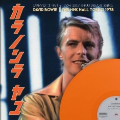 David Bowie - THE NHK HALL TOKYO 1978, Limited Edition Coloured Vinyl