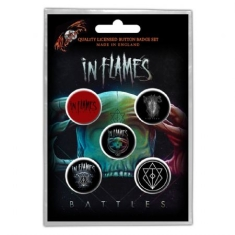 In Flames - Button Badge Pack: Battles