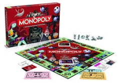 Nightmare before Christmas - Monopoly - Nightmare before Christmas in the group OTHER / Merch Monopoly And Puzzle at Bengans Skivbutik AB (3779692)