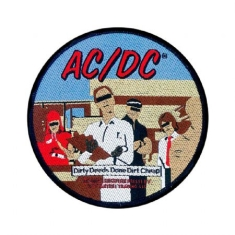 AC/DC - Standard Patch: Dirty Deeds (Loose)
