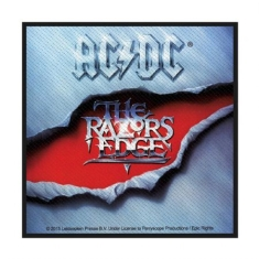 AC/DC - Standard Patch: The Razors Edge (Loose)