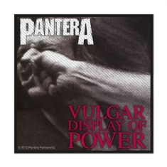 Pantera - Standard Patch: Vulgar Display Of Power (Retail Pack)