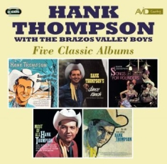 Thompson Hank - Five Classic Albums