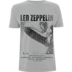 Led Zeppelin - Led Zeppelin Unisex Tee: UK Tour '69 LZ1.