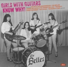 Blandade Artister - Girls With Guitars Know Why!