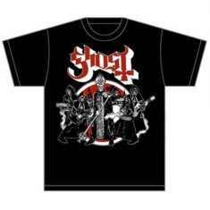 Ghost - T-shirt -  Road to Rome (Men Black)