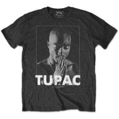 2Pac - TUPAC MEN'S TEE: PRAYING