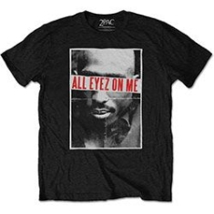 2Pac - TUPAC MEN'S TEE: ALL EYEZ