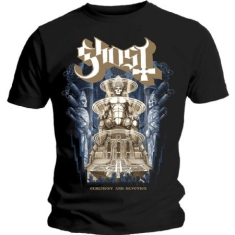 Ghost - GHOST MEN'S TEE: CEREMONY & DEVOTION