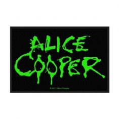 Alice Cooper - Alice Cooper Standard Patch: Logo (Loose)