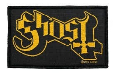 Ghost - STANDARD PATCH: LOGO (LOOSE)