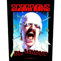 Scorpions - BACK PATCH: BLACKOUT (LOOSE)