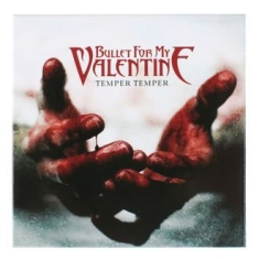 Bullet For My Valentine - FRIDGE MAGNET: TEMPER TEMPER