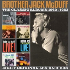 Brother Jack McDuff - Classic Albums 1960-1963 (4 Cd)