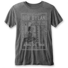 Bob Dylan - Unisex Tee: Curry Hicks Cage (Burn Out)
