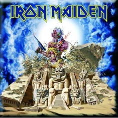 Iron Maiden - Iron Maiden Fridge Magnet: Somewhere Back In Time
