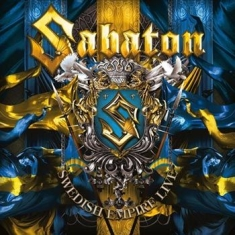 Sabaton - Swedish Empire Live 2Lp
